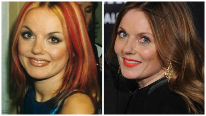 Участницы группы Spice Girls тогда и сейчас