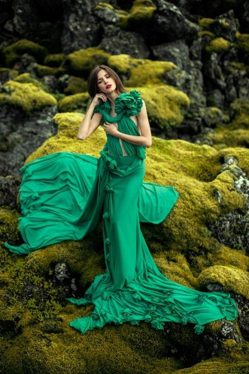 31 кадр зелёного цвета для вдохновения