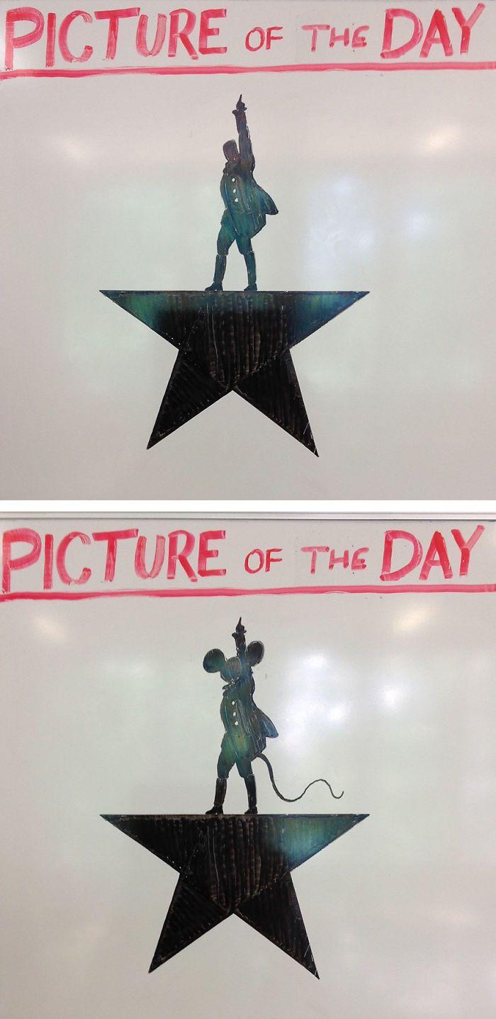 Учитель истории каждый день рисует новую картину