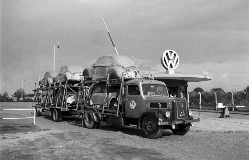 Завод Volkswagen в 1951 году