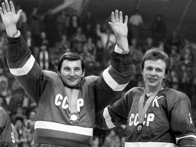 Советские знаменитости на снимках 1984 года
