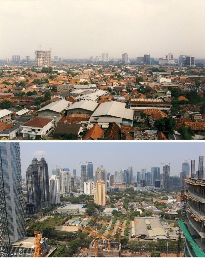 Как менялись мегаполисы