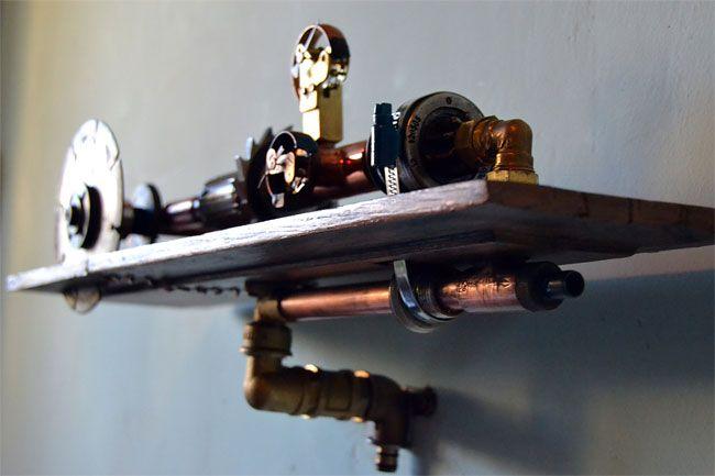 Стимпанк-мебель от румынского мастера