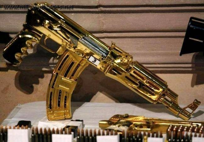 Золотое оружие Саддама Хусейна