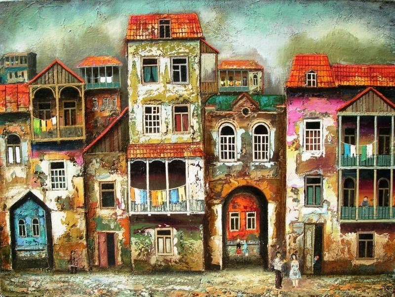 Яркая живопись от Давида Мартиашвили, которая поднимает настроение