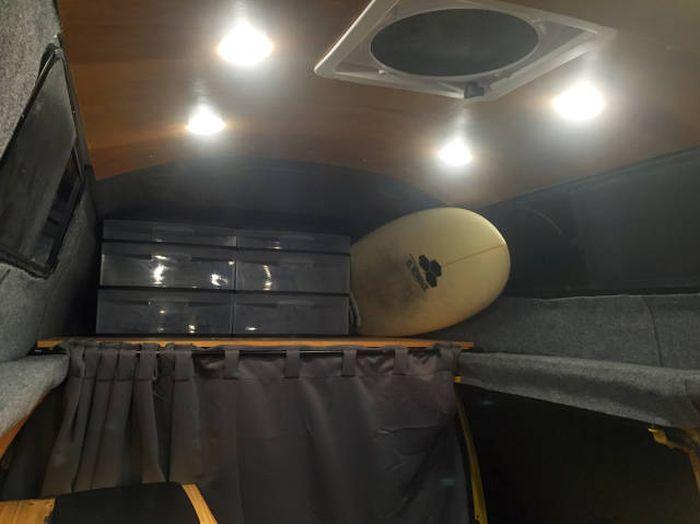 Фургон для путешествий своими руками