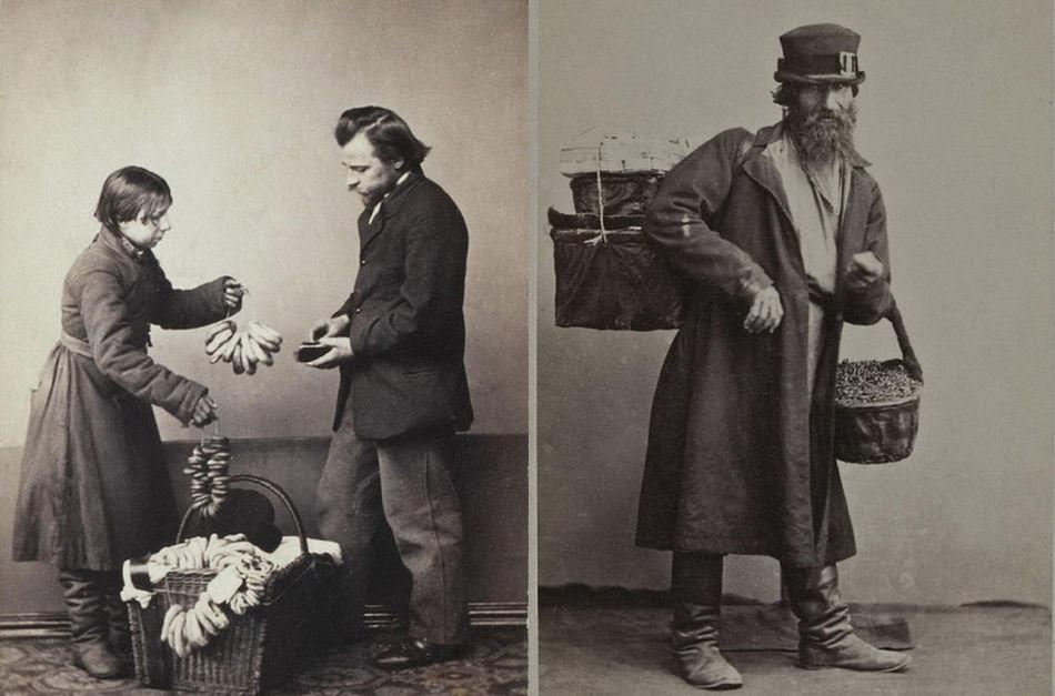 Как выглядели россияне разных профессий в 19 веке