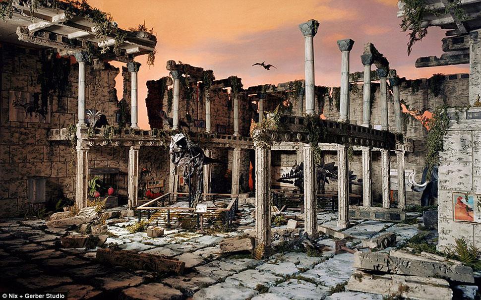 Художница создает миниатюры возможного постапокалипсиса