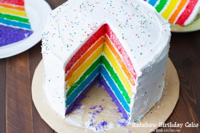 20 радужных десертов