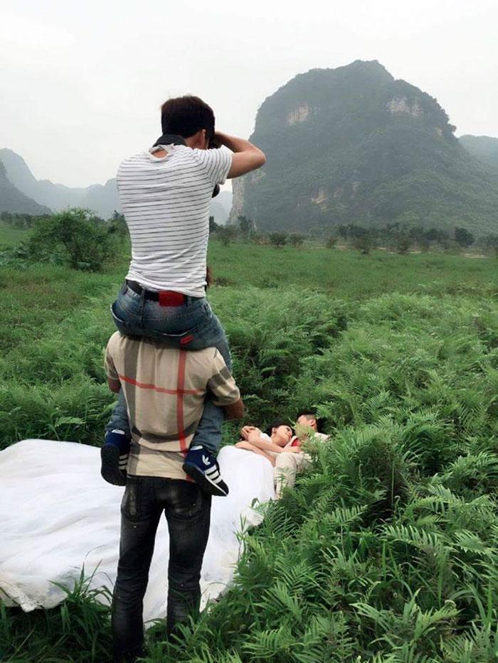 Как на самом деле делаются свадебные фото