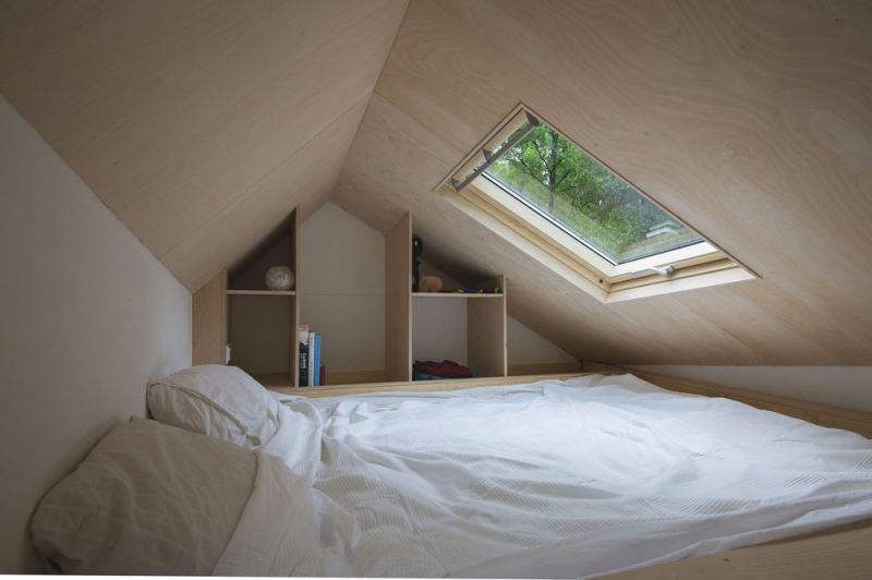 Небольшой мобильный домик в Нидерландах