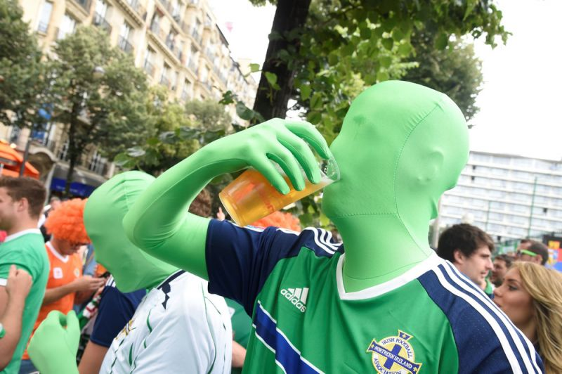 Яркие фанаты Евро-2016