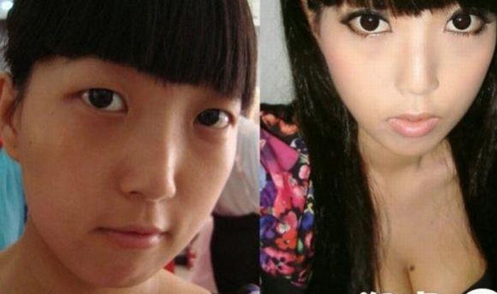 Азиатки и магия макияжа