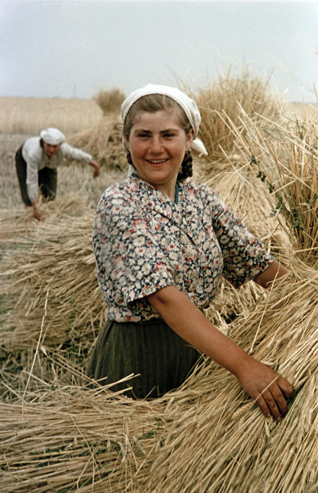 Фотографии из жизни людей в СССР в 1950-х годах