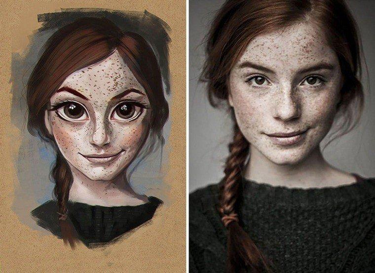 Мультяшные портреты от Хулио Сезара