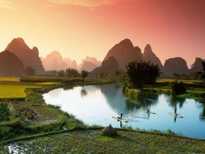Удивительные места с нетронутой природой