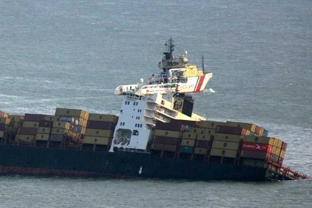 Аварии на морских перевозках