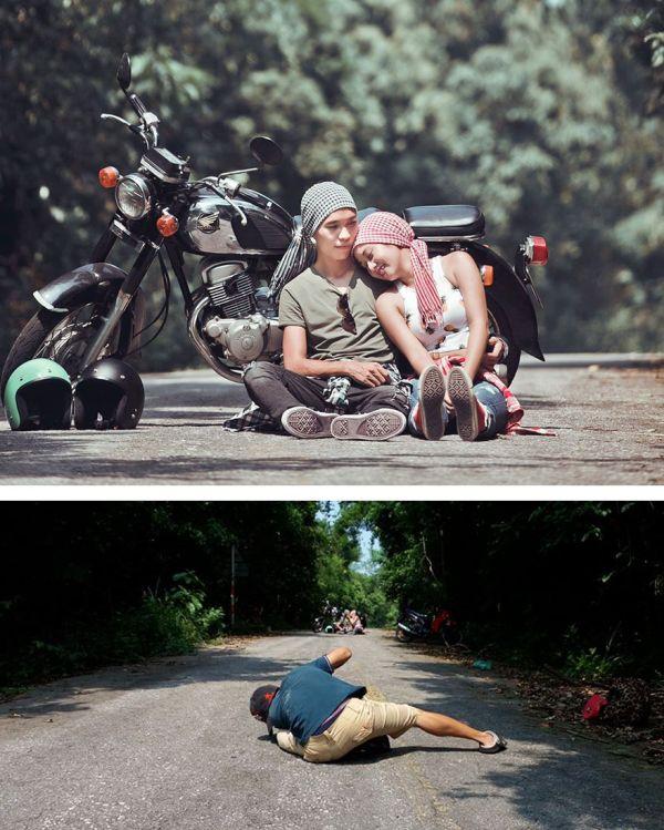 Что обычно остается за кадром эффектных снимков