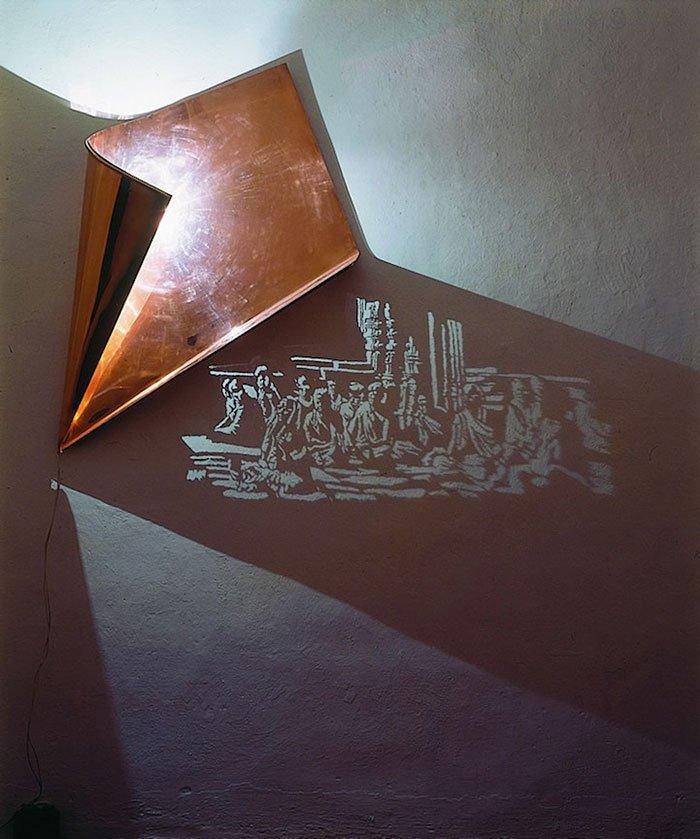 Искусство теней от Фабрицио Корнели