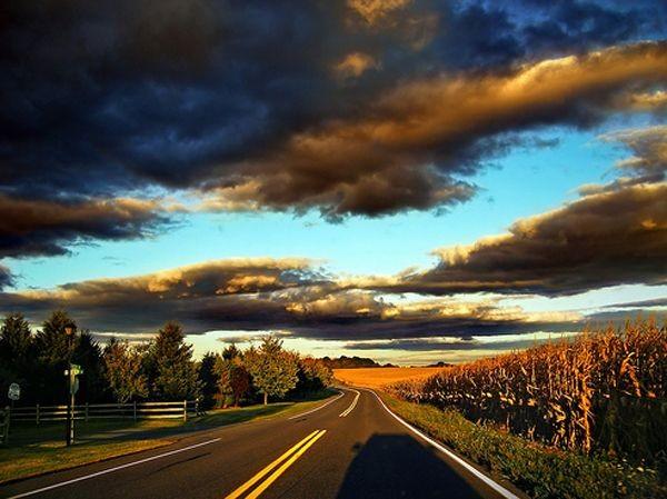 Красивые и необычные дороги со всего мира