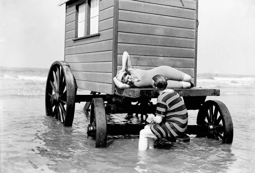 Купальные машины XIX века