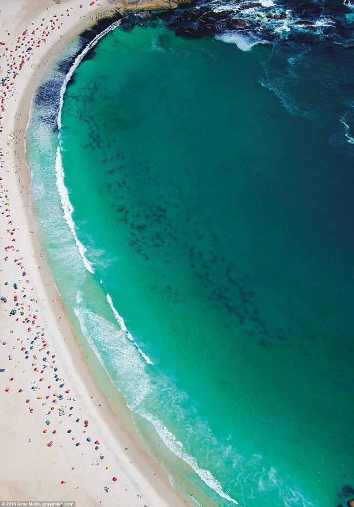 Пляжи мира с высоты птичьего полёта