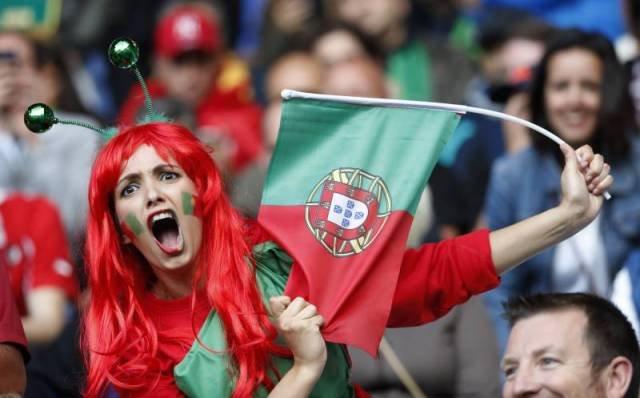 Прекрасные болельщицы на Евро-2016