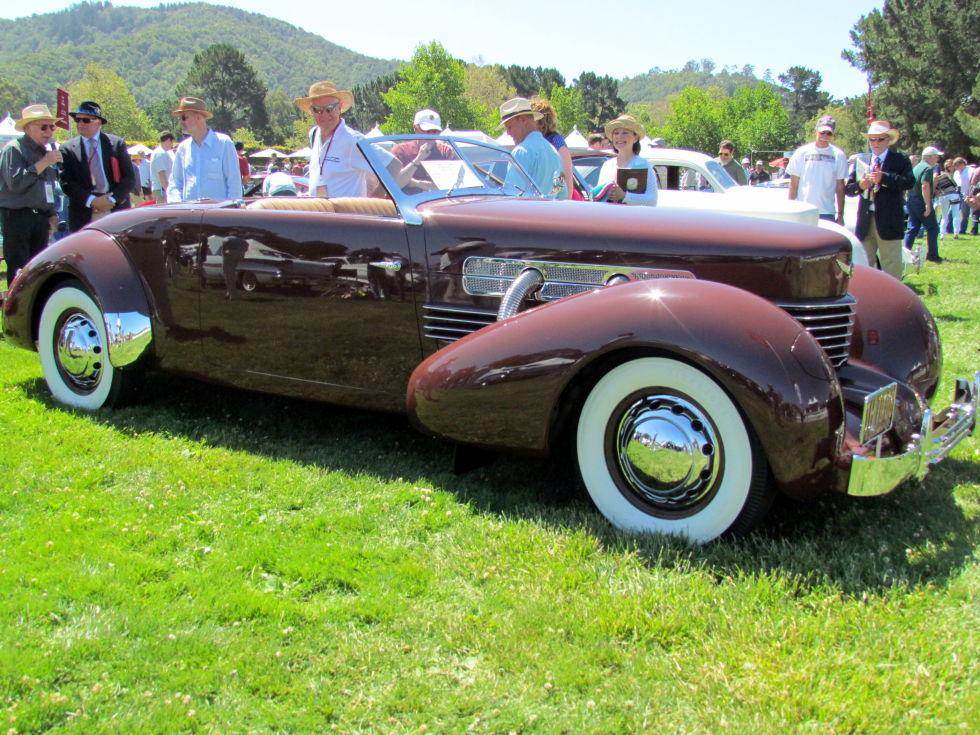Стильные ретро автомобили XX века