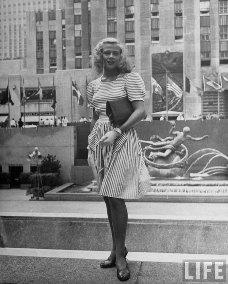 Винтажные красотки Нью-Йорка 1940-х
