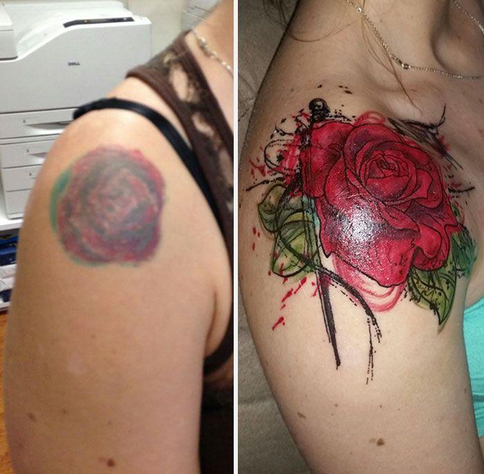 Исправление старых татуировок