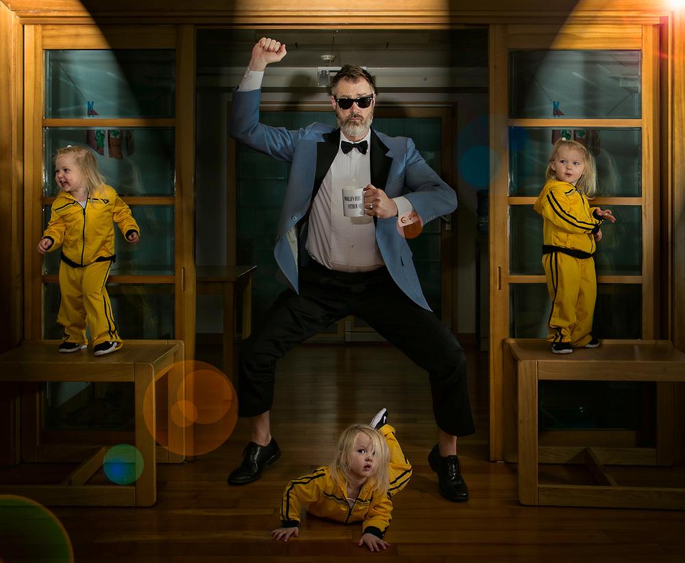 Лучший папа в мире - фотопроект Дэйва Энглдау