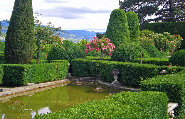 Самые красивые сады Италии
