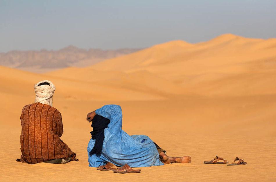 Жизнь народа туарегов, где царит матриархат, а мужчины лишены прав