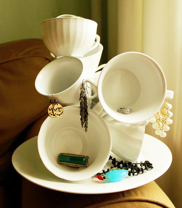 Классные идеи творческого применения старых чашек