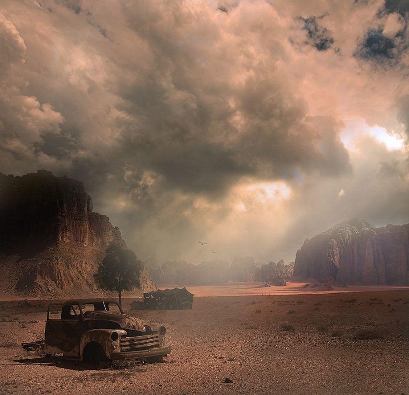 Сюрреалистические картины от фотографа Джорджа Кристакиса