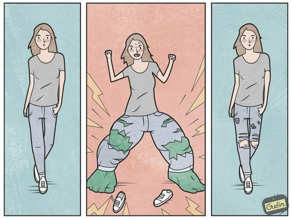 Тонкие и саркастичные иллюстрации от Антона Гудима