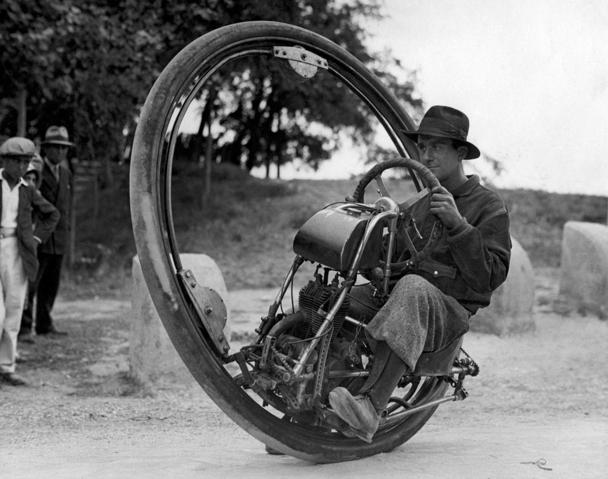 Невероятные транспортные средства, созданные человечеством