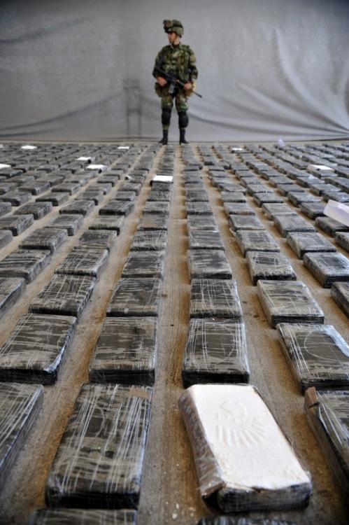 Захват кокаиновой лаборатории