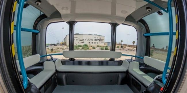 В США представили автобус, напечатанный на 3D-принтере