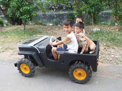 Детские машинки с двигателем до 50 кубиков