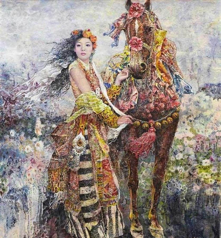 Красивые разноцветные картины от художника Чена Чонга Пинга