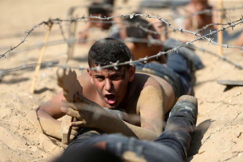 Патриотический летний лагерь школьников в Палестине