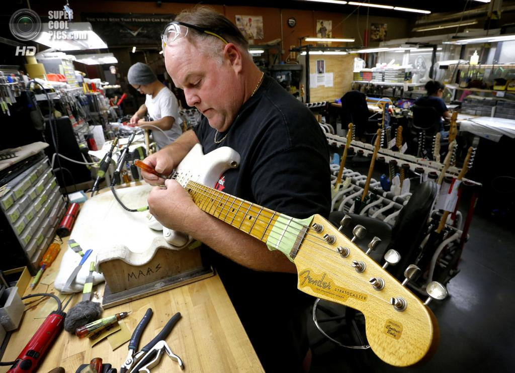 Рождение гитары Fender Stratocaster