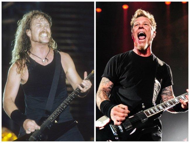 10 рок-звезд в начале своей карьеры и сейчас