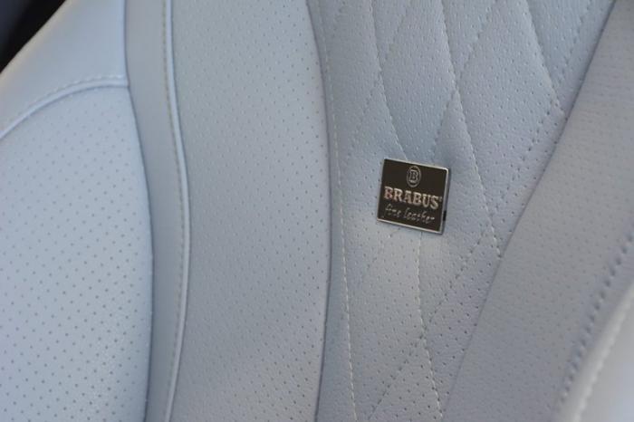 Brabus Maybach Rocket 900 с голубым салоном