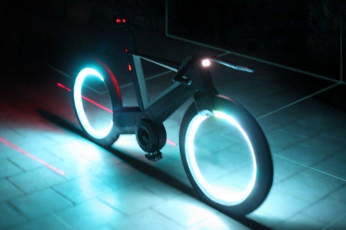 Концепт безосевого велосипеда Cyclotron