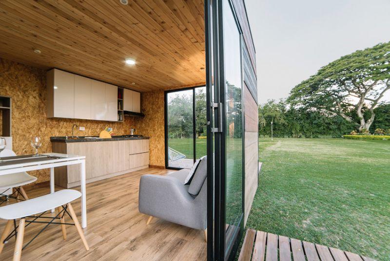 Компактные загородные домики