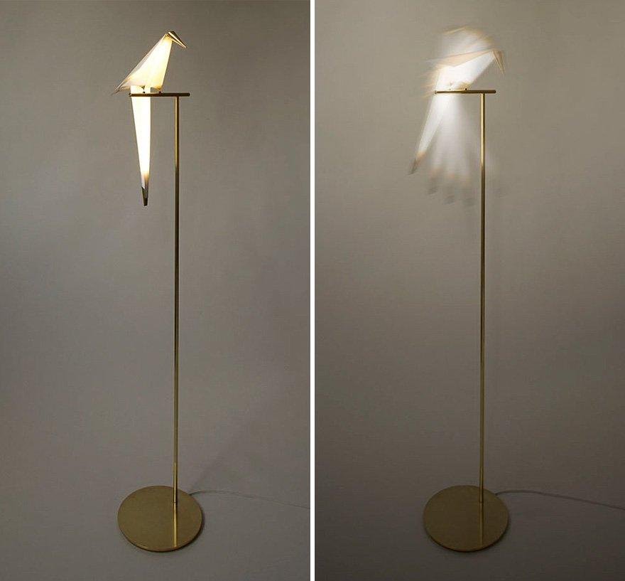 Лампы в виде оригами от Умута Ямаджа