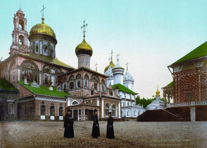 Первые цветные снимки Российской империи