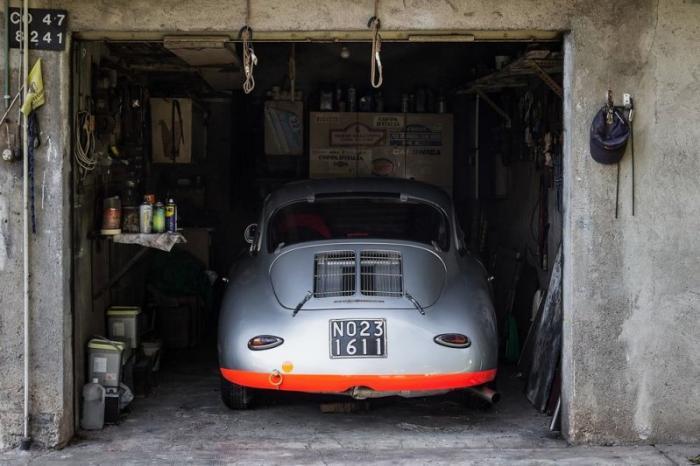 Porsche 356 Super 90 - вождение и гонки